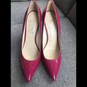 Michael Kors Pink Patent leather heels